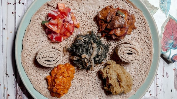 ETHIOPIAN MEAL GIVEAWAY