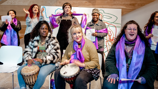 THE OASIS CHOIR & DRUMMING GROUP
